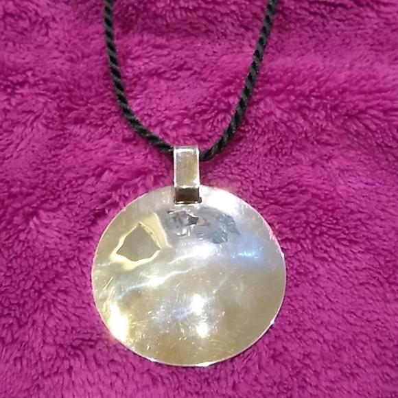 Robert Lee Morris Jewelry - Robert Lee Morris Studio Silver Disc Pendant